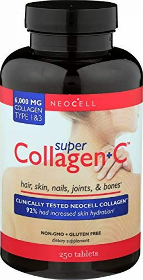 Neocell, Collagen Super Plus C, 250 Tablet ( 3 Pack )