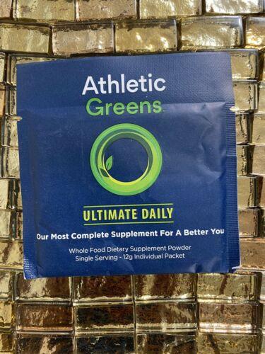 17 - 12g Individual Packets Athletic Greens Ultimate Daily Whole Food NEW NO BOX 1