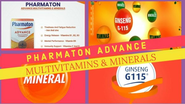 3 (THREE) PACK PHARMATON ADVANCE 100 Caplets (containing Unique Ginseng G115) 9