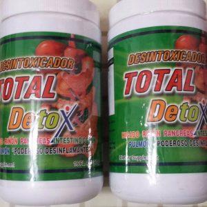 2 TOTAL DETOX DESINTOXICADOR DIETARY SUPPLEMENT 16 OZ (410 GR.) 01/2023 NEW 1