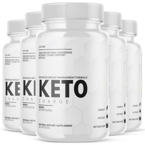 Keto Charge Pills Weight Loss Diet Ketogenic KetoCharge Supplement - 5 Pack
