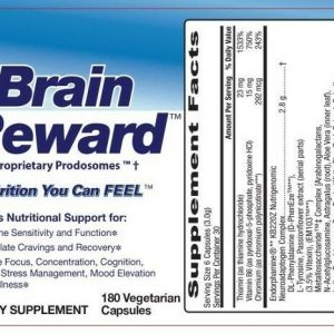 Brain Reward & Serrapeptase - Dissolve brain plaque and feed the Brain 1