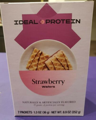 Ideal Protein Strawberry Wafers Bundle of 2 Boxes