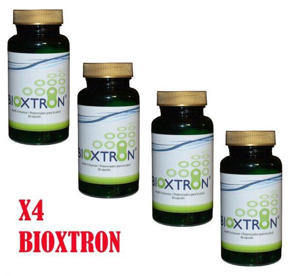 Bioxtron 60 caps X4 Frascos, bioxcell, celulas madre, madre cell,  BIOXTRON