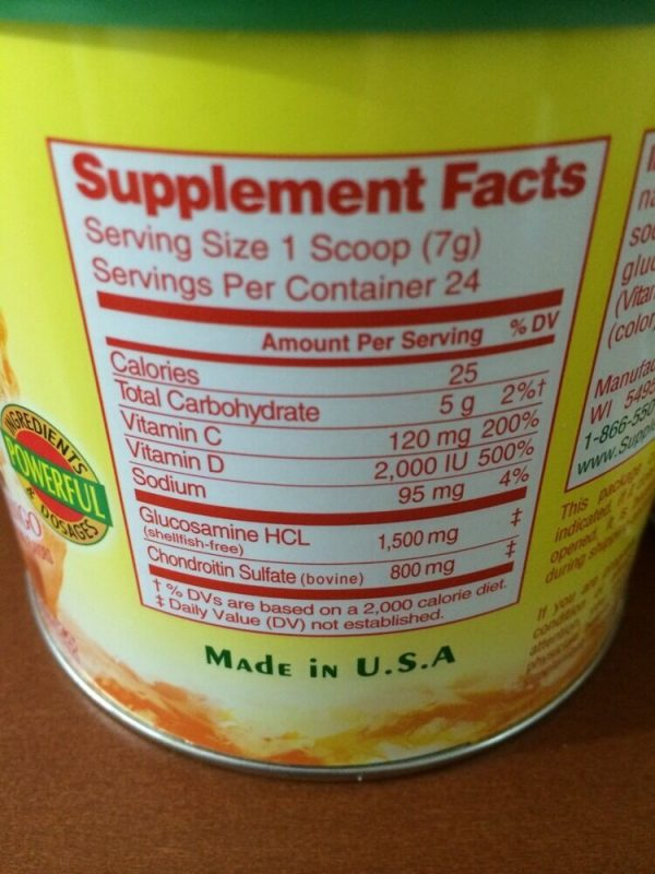 NEW 48 DAYS (2 CANS) Supple Peach Mango Powder Mix Supplement Joint Relief  5