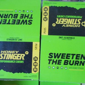 2 BOXES OF 12 - Honey Stinger Performance Chews: Stingerita Lime EXP DATE 10/21