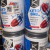 LOT OF 4 Ketologic Keto BHB Patriot-Pop 8.9Oz  Suppresses Appetite Bb 5/21