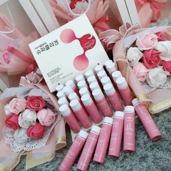 NEW VB Program Super Collagen Moist Bright Skin Drink 25ml x 30ea Ampoules Korea 2