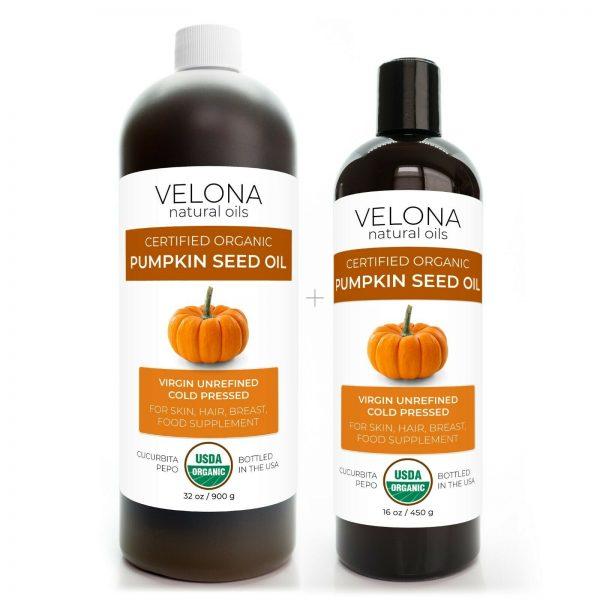 Velona Pumpkin Seed Oil USDA Certified Organic 2oz-7lb Virgin Unrefined Cooking  11