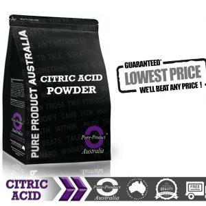 25KG  Citric Acid Food Grade Anhydrous  BULK PACK 1