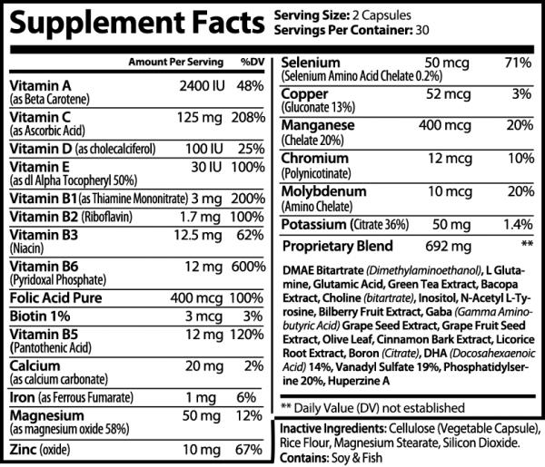 2 Bottles Neuronol Advanced Cognitive Formula 60 Capsules 2