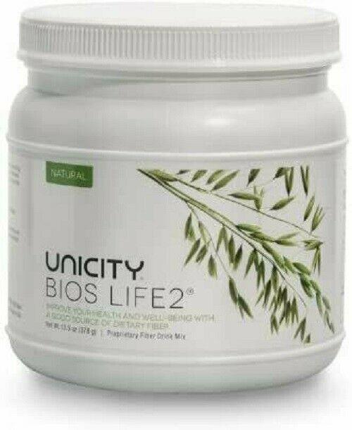 Unicity Bios Life2 Natural Proprietary Fiber Drink Mix 100% authentic