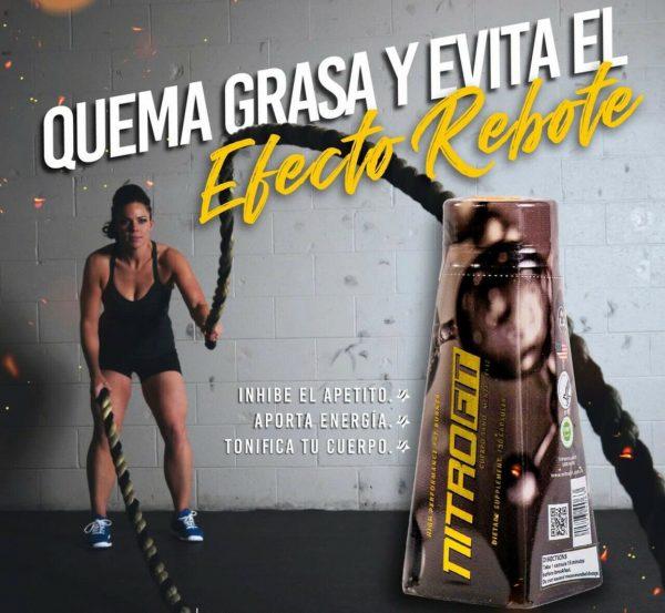 Nitrofit Gold Edition High Performance Fat Burner/Potente Quema Grasa Natural  4