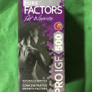 New! Pure Solutions Pure Factors For Women PRO IGF H500 1 oz (30 ml) + Tribulus