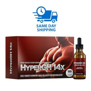 1 HyperGH 14x Box (Tablets) + 1 Bottle (Spray) Combo Muscle Growth Supplement 1