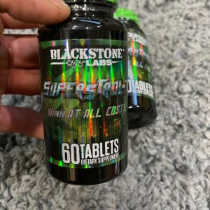 (2) BLACKSTONE LABS SUPERSTROL-7 INCRESE MUSCLE AND STRENGTH 120 CAPS TOTAL! 1