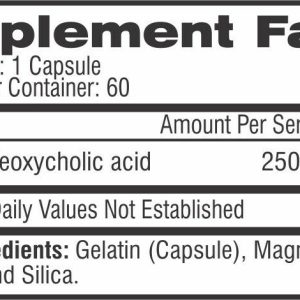 Competitive Edge Labs TUDCA High End Liver Support 60 Capsules - 2 Bottles 1