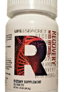 (6) Life By Seacret Recovery With HydroFX 90 Tablets, Expires 7/2022