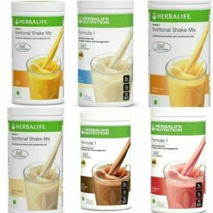 NEW 4X Herbalife Formula 1 Healthy Meal Nutritional Shake Mix- ALL FLAVORS! US! 1