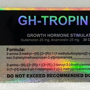 * GH-TROPIN 50 by S.L. * GH BOOSTER, LEAN MASS, FAT LOSS!!! 1